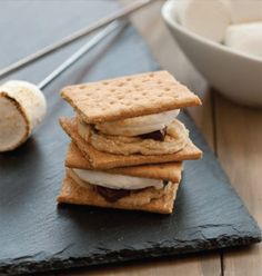 Cookie Dough S'mores are decadent!