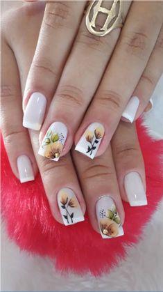 Nail Art, Nails, Elegant Nails, Nail Art Designs, Chic Nails, Neutral Nails, White Nails, Perfect Nails, Feet Nails