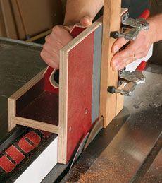 A Slick Tenoning Jig – Fine Woodworking Article - wood projects Woodworking Bench, Fine Woodworking, Woodworking Crafts, Woodworking Videos, Carpentry Projects, Wood Projects, Ideas Para Trabajar La Madera, Tenon Jig, Mortise Jig