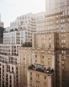 The Upper East Side of Manhattan