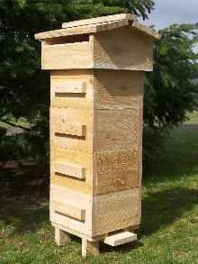 Build your own Warre garden beehive