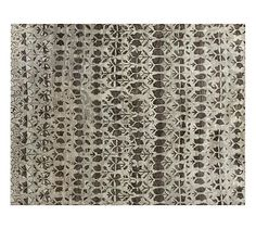 "Avilia Rug #potterybarn 9""x12"" $999 http://www.potterybarn.com/products/avilia-tufted-wool-rug-multi/?cm_src=AutoCatRel"
