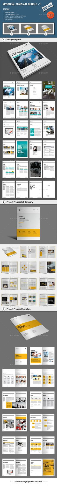 Proposal Proposal templates, Proposals and Stationery - professional project proposal
