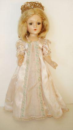 "Vintage Madame Alexander 21"" Fairy Princess Wendy Ann Composition Doll 1939 NICE #Dolls #MadameAlexander"