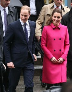 Prince William Photos: Prince William and Kate Middleton at The Door