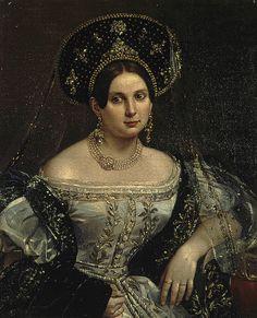 1835, russische Hofkleidung
