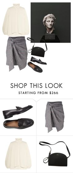 """""""somehow"""" by flaneurforever ❤ liked on Polyvore featuring Isabel Marant, CO and A.P.C."""