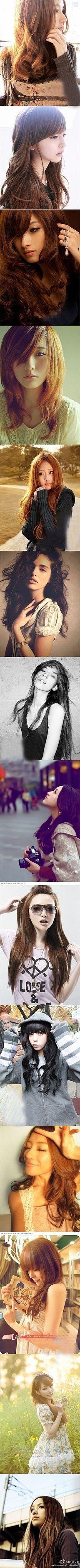 Asian hair.. :/