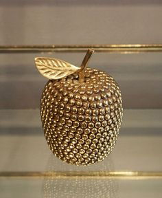 Brass Studded Apple | Rock n' Roll London