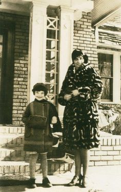 My mother's fur coat stirred my first memory of comforting fur. She wore a full-length, long-haired, black and white, skunk-skin coat. #vintage #fashion #furcoat #storiesshared #pollyanncastle