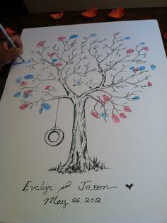 jasons wedding sign in cuteee