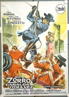 carteles cine del zorro - Buscar con Google