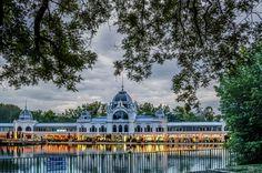 "Lake in  Varosliget Park (Budapest, Hungria) - <a href=""http://www.flickr.com/photos/dleiva/sets/72157629953876160/show/"">Para ver mi colección ""Budapest"" pulsa aquí</a>"