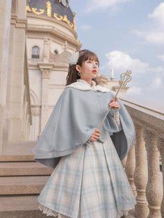 Harajuku Fashion, Kawaii Fashion, Lolita Fashion, Fashion Outfits, Cute Dresses, Cute Outfits, Long Sleeve Chiffon Dress, Oui Oui, Kawaii Clothes