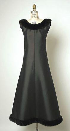 1964 House of Balenciaga | Evening dress | French | The Metropolitan Museum of Art