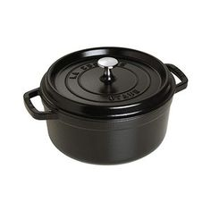 Cocotte ronde fonte 22 cm L Staub noir Chili Recipes, Soup Recipes, Cocotte Staub, Enameled Cast Iron Cookware, Best Chef, Herd, Roasted Tomatoes, Quinoa Salad, Gourmet