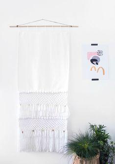 diy wall hanging