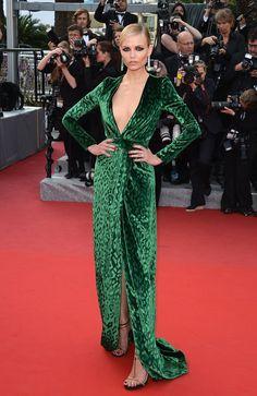 Natasha Poly pour L'Oréal Paris #HauteCouture #RedCarpet