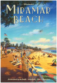 Miramar Beach, Montecitos Art Print at AllPosters.com