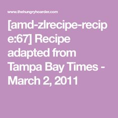 Recipe adapted from Tampa Bay Times - March 2011 Cracker Barrel Menu, Fall Recipes, Great Recipes, Bacon Wrapped Smokies, Baby Carrots, Thanksgiving Turkey, Tampa Bay, Vegetable Recipes, Side Dishes