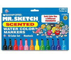 Throwback Thursday... 80s and 90s kids...these markers were the best...all the cool kids at them at school!