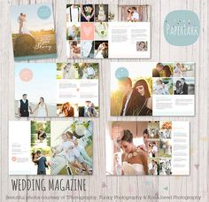 Wedding Photography Magazine - 22 Page Template - when I get the time.....