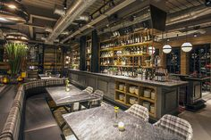 Modern Industrial Grill Restaurants - Hurricane's Grill is a Steak and Ribs Restaurant in Jakarta (GALLERY)