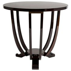 1940s Gueridon French Art Deco Side Table