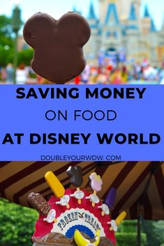 Learn how to save money on food and snacks on your Walt Disney World vacation. Find out how to have a disney trip on a budget with these tips and tricks to save. Disney world planning tips and tricks to help you get the most out of your vacation Disney World Tipps, Disney World Food, Disney World Planning, Disney World Tips And Tricks, Disney Tips, Disney Stuff, Best Disney World Restaurants, Walt Disney World Vacations, Disney Travel