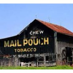 Mail pouch ad on old barn