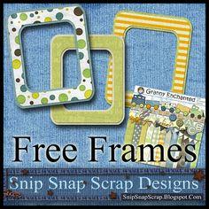"Free ""Bubble Train"" Digital Scrapbook Frames ♥♥Join 3,800 people. Follow our Free Digital Scrapbook Board. New Freebies every day.♥♥"