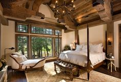 Rustic Bedroom Furniture Design Bedroom Ideas Log Homes Appealing Interior Lodge Style Amazing Cool Rustic Bedroom Design, Diy Home Decor Rustic, Rustic Bedroom Furniture, Rustic Master Bedroom, Rustic Bedrooms, Bedroom Designs, Rustic Room, Master Bedrooms, Lodge Furniture