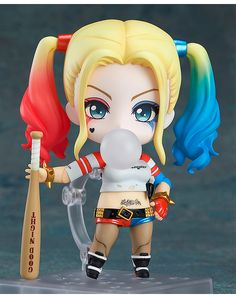 Nendoroid Harley Quinn: Suicide Edition  --Be your own Whyld Girl with a wicked tee today! http://whyldgirl.com/tshirts