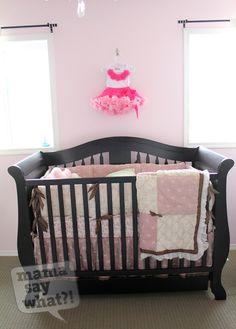 Shabby chic and oh-so-girly nursery!