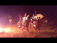 White Mountain meets Mescalero Apache Crown Dancers 2016 - YouTube