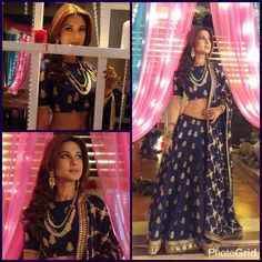 Rudri Brand wishes Happy Birthday! to The Reigning Queen Of Indian TV, Jennifer Winget. Indian Look, Indian Wear, Indian Attire, Patiala Salwar, Anarkali, Lehenga, Saris, Ethnic Fashion, Indian Fashion