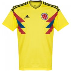 Camiseta Mundial Colombia 2018-2019 Local #shirt #style #football #fútbol