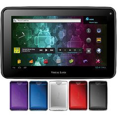 "Visual Land Prestige 7 Android 4.0 Internet Tablet 7"" Capacitive Multi-Touch Screen 8GB Memory (Assorted Colors)"