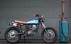 Yamaha XT600 Street Tracker by Lab Motorcycle