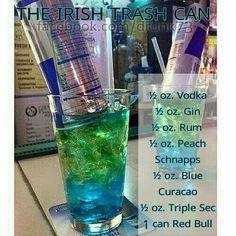 Irish trashcan...sounds delicious!