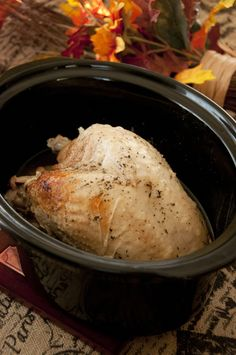 Slow Cooker Turkey Breast   Wishes and Dishes