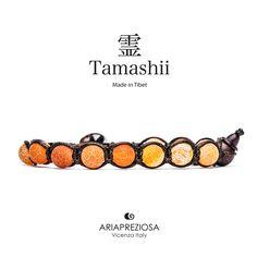 Tamashii - Bracciale Tradizionale Tibetano Agata Fuoco con trattamento Air Slacked