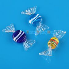 12pcs Vintage Murano Glass Sweets Wedding Party Candy Christmas Decorations New