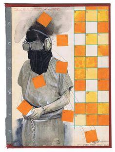 172 Different Shades Of Orange by Gideon Kiefer, via Flickr
