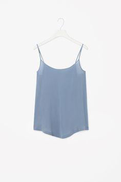 COS | Silk vest top