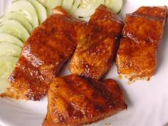 Maple Butter Crusted Salmon recipe by Dizzy Pig BBQ combines maple, butter, and Dizzy Pig& Raging River seasoning blend for a tasty piece of fish. Healthy Salmon Recipes, Fish Recipes, Seafood Recipes, Crusted Salmon, Grilled Salmon, Grilling Recipes, Cooking Recipes, Butter Crust