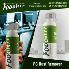 Buy a PC Dust Remover which cleans your dusty electronics, PC and computer efficiently without any damage and harm. Visit our site and see some videos for foooit which explains you how foooit works. For More Information: http://www.foooit.com info@foooit.com 91-9717912888