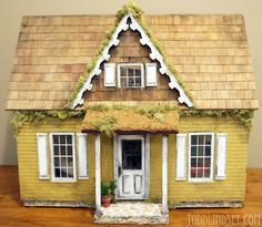 Country Cottage Dollhouse - DIY