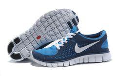 huge discount 830e6 09f5b Nike Free Run Mænd Blå Sko Cheap Nike Air Max, Cheap Jordan Shoes, Cheap