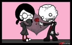 Zombie dating blog